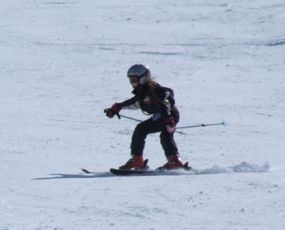 Me skiing at Alpe D'Huez